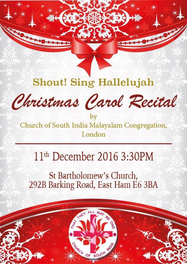 christmas recital invitation : Cogimbo.us